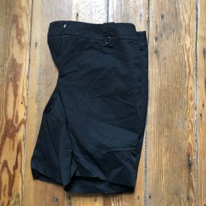 H&M black long shorts size 12
